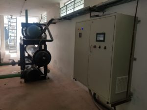 150 TON screw Chiller with VFD