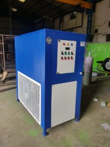 7.5 TON air cooled chiller with Tank & Coil