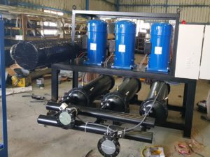 Water Cooled Industrial Chiller with Multi Compressor